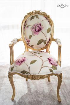 PRE ORDER: Ribbon chair - Silk