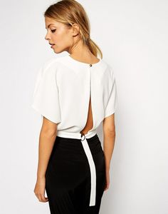 11 Tops With Gorgeous Backs via @WhoWhatWear