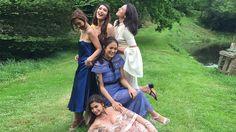 The Shoe All It Girls Wear To Weddings Block Heel Shoes, Girls Wear, Ph, Weddings, Watch, Wedding Dresses, How To Wear, Style, Fashion