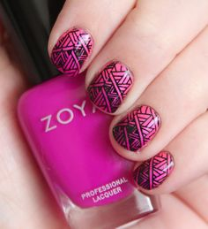 Nail Art featuring Zoya Nail Polish in Charisma - Zoya Charisma