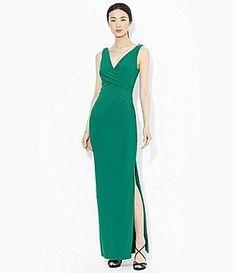 Lauren by Ralph Lauren Long Side Slit Dress - I like this one!!