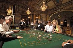 Gaming at the Monte Carlo Casino