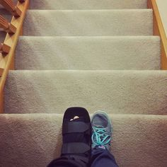 My nemesis now. I have to take each step one at a time so I am planning each trip up & down.  #PNPAD #photoaday2015 #fromwhereistand