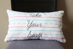 LOVE Letter Pillows Inserts Included par dirtsastudio sur Etsy