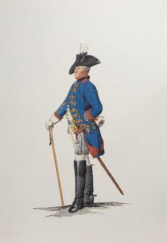 Plate 81. Dragoner-Regiment No.7, Offizier