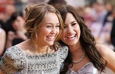 Demi Lovato And Miley Cyrus Are Now Tattoo Twins