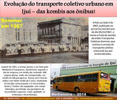 IJUÍ - RS - Memória Virtual: Transportes Coletivos Sommer, do empresário Edgar ...