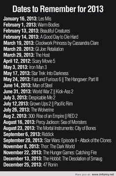 need to write these in my calendar