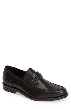 Men's Calvin Klein 'Orland' Leather Bit Loafer