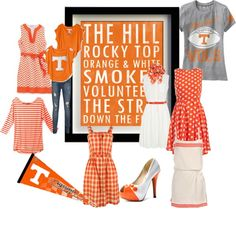 Tennessee Game Day Fashion/bringing in the other side of my fam! Tennesse Volunteers, Tennessee Volunteers Football, Ut Football, Tennessee Football, University Of Tennessee, Football Season, Tennessee Game, Tennessee Girls, Tn Titans