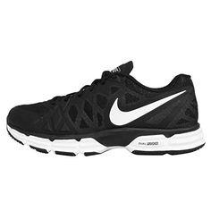 Nike Mens Dual Fusion Tr 6 BlackWhiteMtllc SlvrPr Pltnm Training Shoe 13  >>> Click image to review more details.