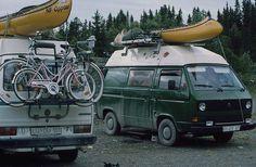 VW T3, Family trip Scandinava