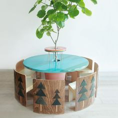 Kids garden table/planter