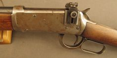 Winchester 1894 Rifle With Peep Sight 30-30 Built 1921