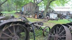 Does your back yard look like this ? Machinery enthusiasts heaven! www.toursgallery.com