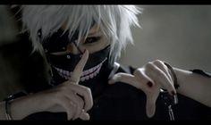 ICO as Kaneki Ken (Tokyo Ghoul)