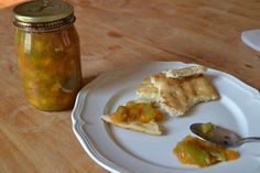 Hatch Chile Peach Jam