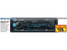 Kenwood Bluetooth iPod USB AUX Tuner Ipod, Bluetooth, Usb, Catalog, Ipods