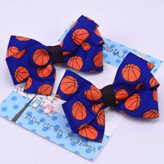 basketball bows - Pluff Bows