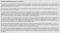 History of Eostre