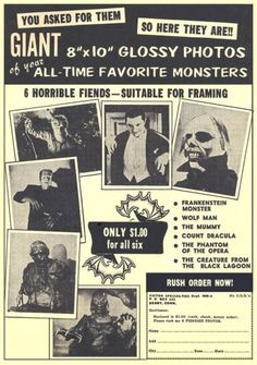 All your favorite monsters.