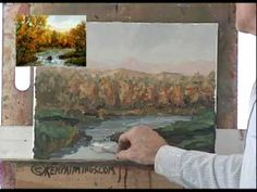 Landscape102 Oil Painting Instruction How to Paint Water