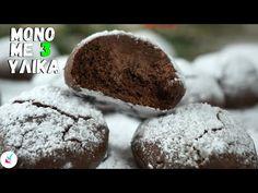Νηστίσιμα Κουλουράκια με 3 Υλικα ΜΟΝΟ - Μπισκοτα με 3 Υλικα - Νηστίσιμα Κουλουράκια Με Σοκολατα - YouTube Vegan, Cookies, Chocolate, Youtube, Desserts, Food, Crack Crackers, Tailgate Desserts, Deserts