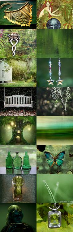 Green Beauties! by Ilona Rudolph on Etsy--Pinned with TreasuryPin.com