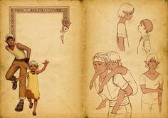 Yuin et Limra Nezih - artbook by uriko33