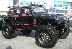 Custom Jeep Wrangler Rubicon