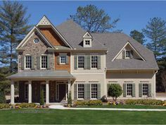 Eplans Country House Plan - Perfect Traditional Home for Growing Family - 3636 Square Feet and 5 Bedrooms from Eplans - House Plan Code HWEPL68373