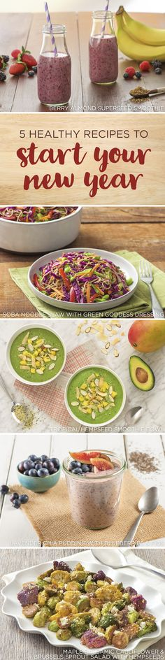 5 Healthy Recipes to Start Your New Year kitchen.nutiva.com