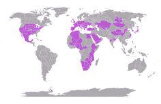 Mám procestováno 28.48% světa #mytravelmap