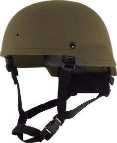 MID CUT, ACH-shaped, aramid, ballistic helmet includes 1 NVG hole and the Modular Suspension System. Ideal for use with Batlskin Viper Modular Head Protection system.