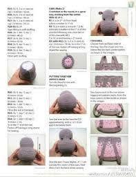 25+ melhores ideias de Hipopótamo De Crochê no Pinterest ...