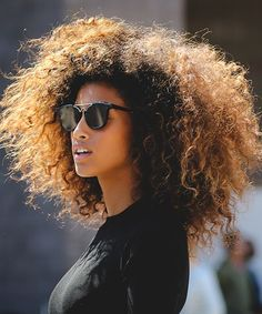 All we can say about Imaan Hammam is: Major. Hair. Envy