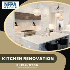 Renovating your kitchen could also improve safety, increase conform, update the look, and increase the resale value of your home. These are a few reasons that everyone wants to renovation your Kitchen in Burlington. Call us today at Kitchen Renovations, Kitchen Remodel, Open Concept, Cool Kitchens, Backsplash, Countertops, Safety, Construction, Home Decor