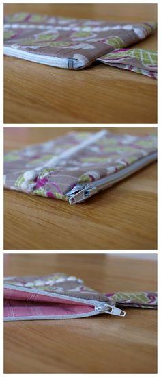 motyli tasticka návod/ zippered pouch