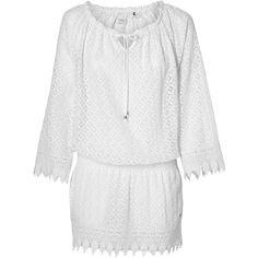 O'Neill Tunika »Lace« für 79,99€. Fashion Fit, All Over Print, Spitzenbesatz an den Beinen bei OTTO