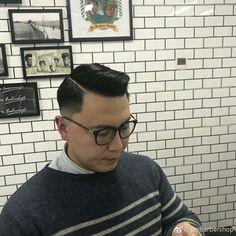 Haircut Great Haircuts, Men's Haircuts, Haircuts For Men, Short Haircut, Fade Haircut, Slick Hairstyles, Comb Over, Asian Style, Asian Men