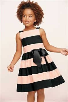 Buy Stripe Prom Dress (3-12yrs) from the Next UK online shop