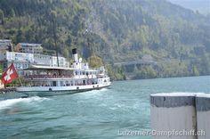 River cruise- Steamboat Stadt Luzern in Brunnen lake lucerne switzerland 2013
