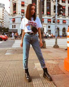 oufits made in the mentira, sou de 2000 // wearing lojalacodeluxo, zara, cea_brasil Mode Outfits, Retro Outfits, Cute Casual Outfits, Fall Outfits, Fashion Outfits, Summer Jean Outfits, Hipster Outfits For Women, Vintage Hipster Outfits, Edgy School Outfits