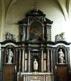 Brügge, Mariastraat, Onze-Lieve-Vrouwekerk, Marienaltar (Mary's altar)   da HEN-Magonza