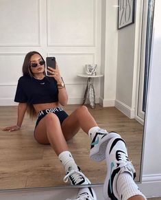 Lazy Outfits, Cute Comfy Outfits, Sporty Outfits, Teen Fashion Outfits, Mode Outfits, Look Fashion, Trendy Outfits, Summer Outfits, Girl Outfits