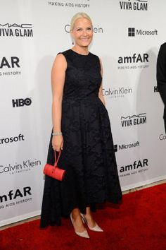 HRH Crown Princess Mette-Marit of Norway attends the amfAR Inspiration Gala New York 2014 at The Plaza Hotel, 10.06.2014 in New York City.