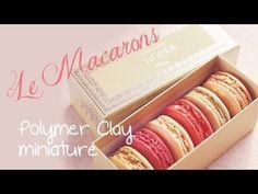 ♡ Le Macarons ▪ Fimo Miniature Tutorial ♡