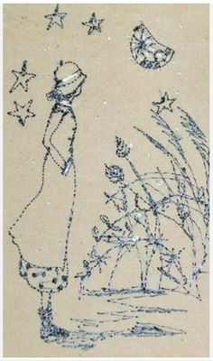 Betty stops to gaze at the Bright Moon: Michelle Holmes
