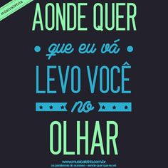 aonde quer que eu vá - os paralamas do sucesso  www.musicaletria.com.br…