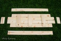 Easy DIY Bench – Not JUST A Housewife
